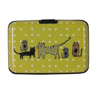 Biggdesign Cats in İstanbul Yeşil Kartvizitlik  BGD111460802