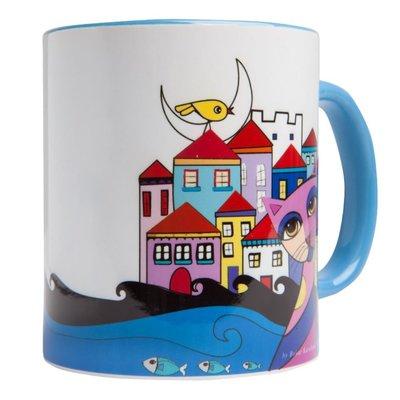 Biggdesign Owl And City Kupa BGD161460904