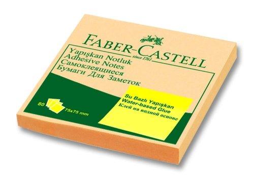 Faber-Castell Yapışkan Notluk Harmony 75x75mm Krem