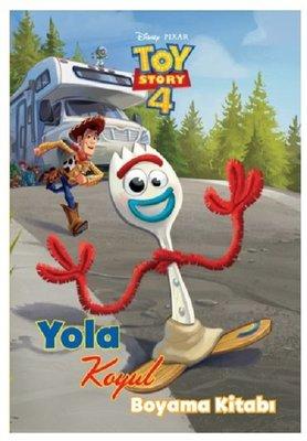 Disney Pixar Toy Story 4-Yola Koyul Boyama Kitabı