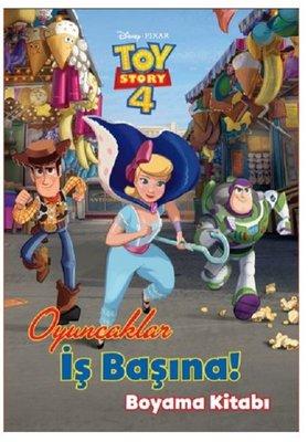 Disney Pixar Toy Story 4-Oyuncaklar İş Başında Boyama Kitabı