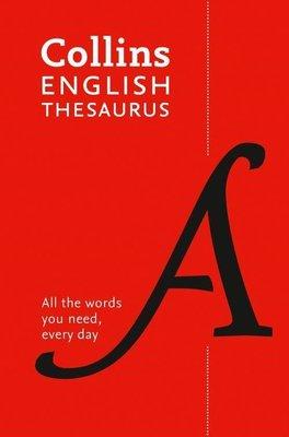 Collins English Thesaurus 8th Edition