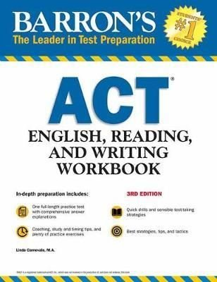 Barron's ACT English, Reading, and Writing Workbook (Barron's Test Prep)