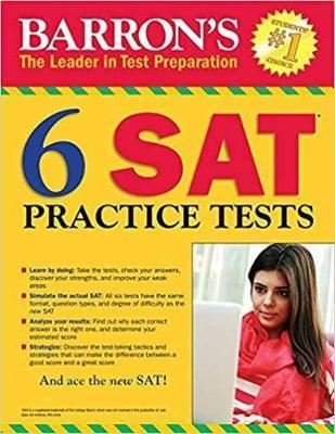 Barron's SAT with Online Tests (Barron's Test Prep)