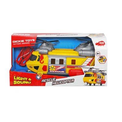 Simba - Dickie Rescue Helikopter Çift Pervanaeli Sesli-Işıklı