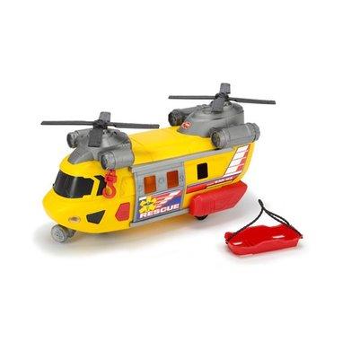 Dickie Toys Çift Pervaneli Sesli Işıklı Kurtarma Helikopteri Oyuncak