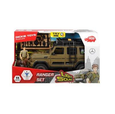 Dickie Toys Simba Hunter Set Arazi Aracı 500 Sesli Işıklı 4x4 Model Taşıt