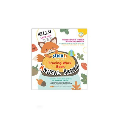 Gıpta Stıckn Sevimli Hayvanlar Kitabı 20x15Cm 30Sf