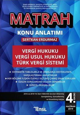 Matrah Konu Anlatımı: Vergi Hukuku-Vergi Usul Hukuku-Türk Vergi Sistemi