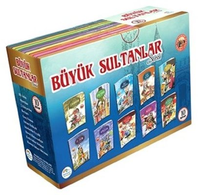 Büyük Sultanlar Serisi - 10 Kitap Takım Kutulu