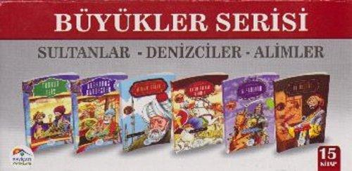 Büyükler Serisi Sultanlar Denizciler Alimler 15 Kitap Set