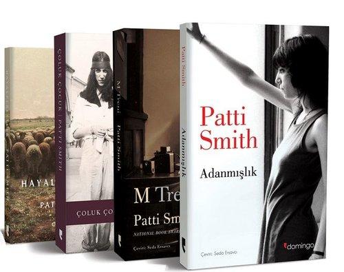 Patti Smith Seti-4 Kitap Takım