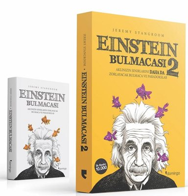 Einstein Bulmacası Seti-2 Kitap Takım