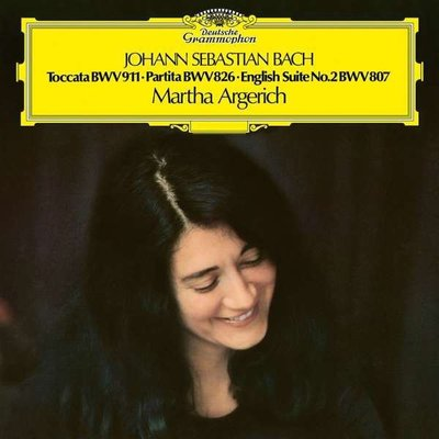 J.S. Bach: Toccata C-Moll / Partita Nr. 2 / Englische Suite Plak
