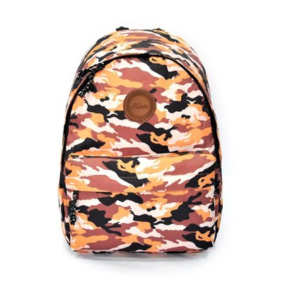 Fudela Outdoor Backpack Turuncu Kamuflaj FE 34
