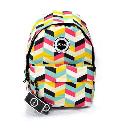 Fudela Outdoor Backpack Renkli Geometri FE 57