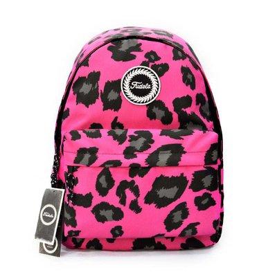 Fudela Outdoor Backpack Pembe Leopar FE 65