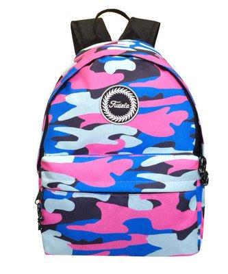 Fudela Outdoor Backpack Pembe Kamuflaj FE 58