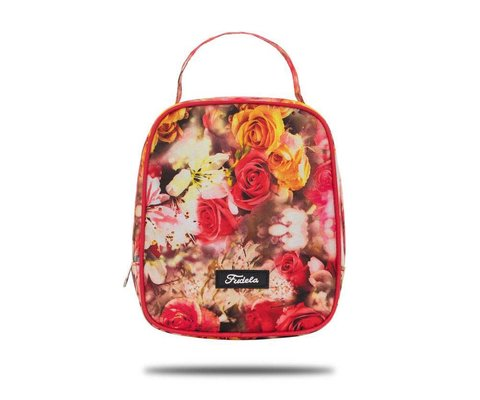 Fudela Iconıc Lounch Kırmızı Güller Beslenme Çantası FDL 3004