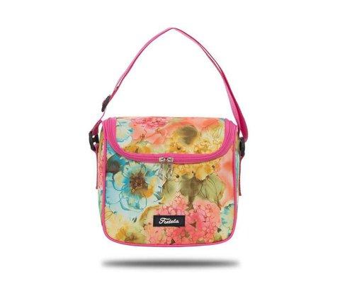Fudela Iconic Stay Pembe Çiçekler Beslenme Çantası FDL 3053