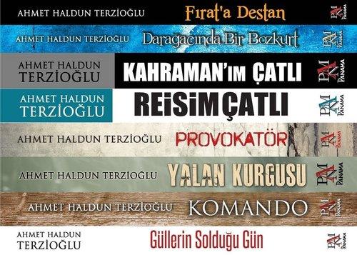 Ahmet Haldun Terzioğlu Siyasi Roman Seti-8 Kitap Takım