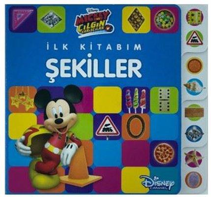 İlk Kitabım Şekiller-Disney Mickey ve Çılgın Yarışçılar
