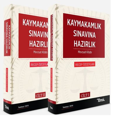 Kaymakamlık Sınavına Hazırlık-Mevzuat Kitabı Seti-2 Cilt Takım