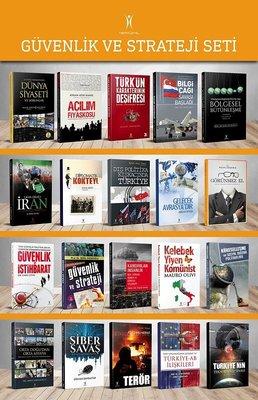 Güvenlik ve Strateji Set-20 Kitap Takım