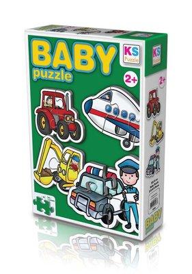 Ks Games Meslekler Taşıtlar Baby Puzzle