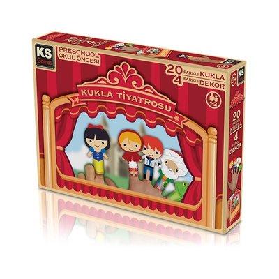 Ks Games-Paper Puppets KağıtKukla