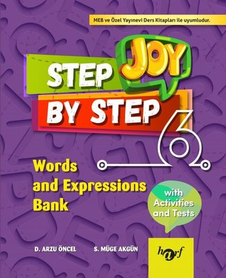 Step By Step Joy 6.Sınıf Words and Expressions Bank