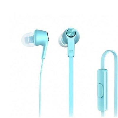 Xiaomi Piston Basic Edition Yassı Kablo Mikrofonlu Kulakiçi Kulaklık Mavi