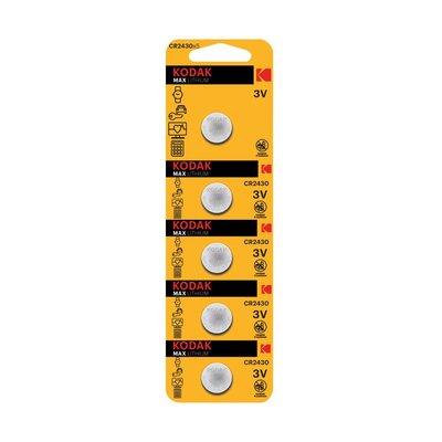 Kodak 5 Adet CR2430 Lityum Para Pil