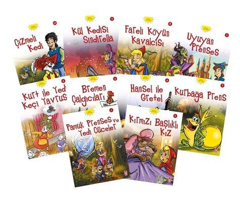 Dünya Masalları Seti 1-10 Kitap Takım