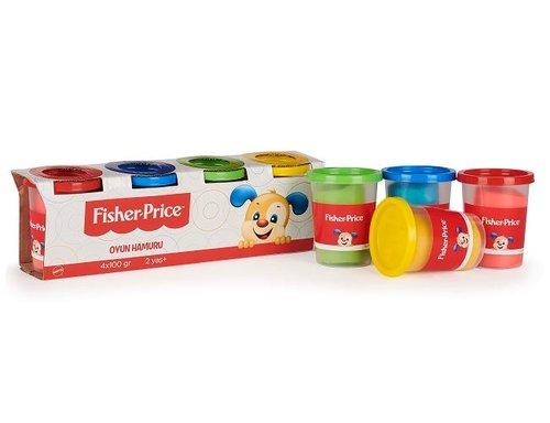 Fisher-Price Oyun Hamuru 4 lü Paket 4x100 Gr