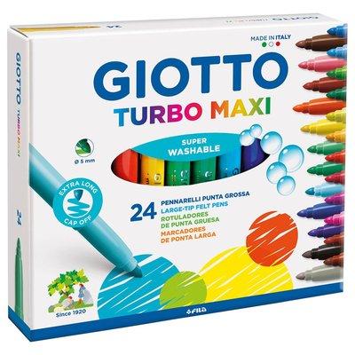 Giotto Turbo 24 Renk Maxi Keçeli Kalem