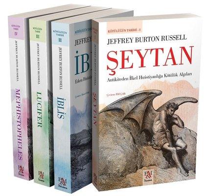 Kötülüğün Tarihi Seti-4 Kitap Takım