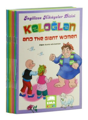 Keloğlan Stories-İngilizce Hikayeler Seti-10 Kitap Takım