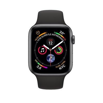 Apple Watch Seri 4 GPS 40mm Uzay Grisi Alüminyum Kasa Siyah Spor Kordon MU662TU/A