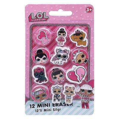 Lol 12li Mini Silgi Set 170503-93