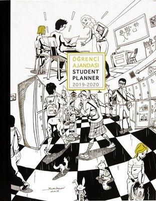 Akademi Çocuk Öğrenci Ajandası 2019-2020 Student