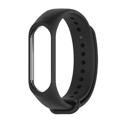 Xiaomi Mi Band 3/4 Akıllı Bileklik Kordonu - Siyah