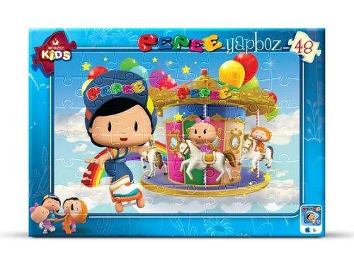 Art Kids Pepee Luna Parkta 24 Parça 4596