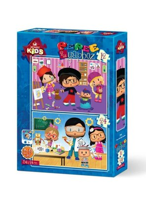 Art KidsPepee Meslek 12+24 Parça 4181