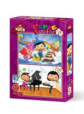 Art Kids Pepee Doğum Günü 24+35 Parça 4183