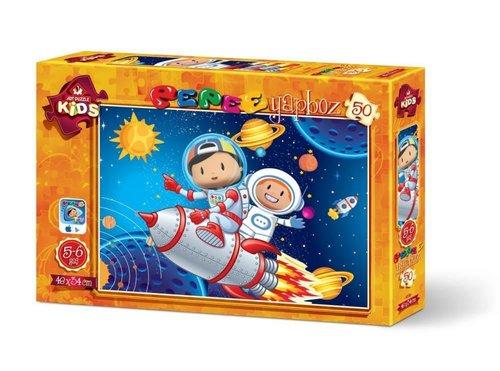 Art Kids Pepee Uzay Keşfinde 50 Parça 4238
