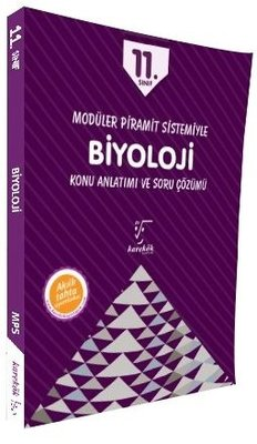 11.Sınıf Modüler Piramit Sistemiyle Biyoloji Konu Anlatımı ve Soru Çözümü