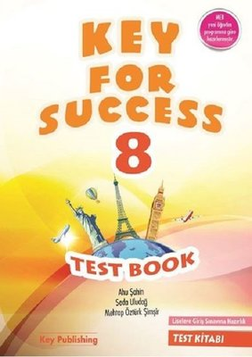 Key Publishing Key For Success 8 Test Book 2018-2019