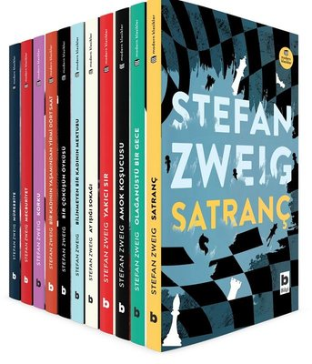 Stefan Zweig Başyapıtlar Dizisi-11 Kitap Takım