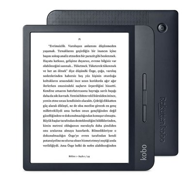 Kobo Libra H2O Siyah E-Kitap Okuma Cihazı